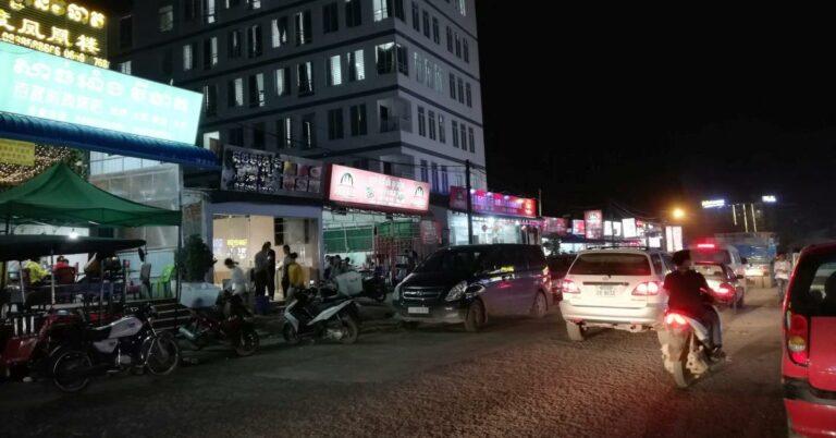 Chinesische Küche auf dem Victory Hill, Sihanoukville.