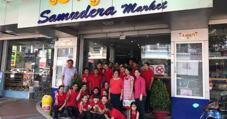 Samudera Supermarkt in Sihanoukville.