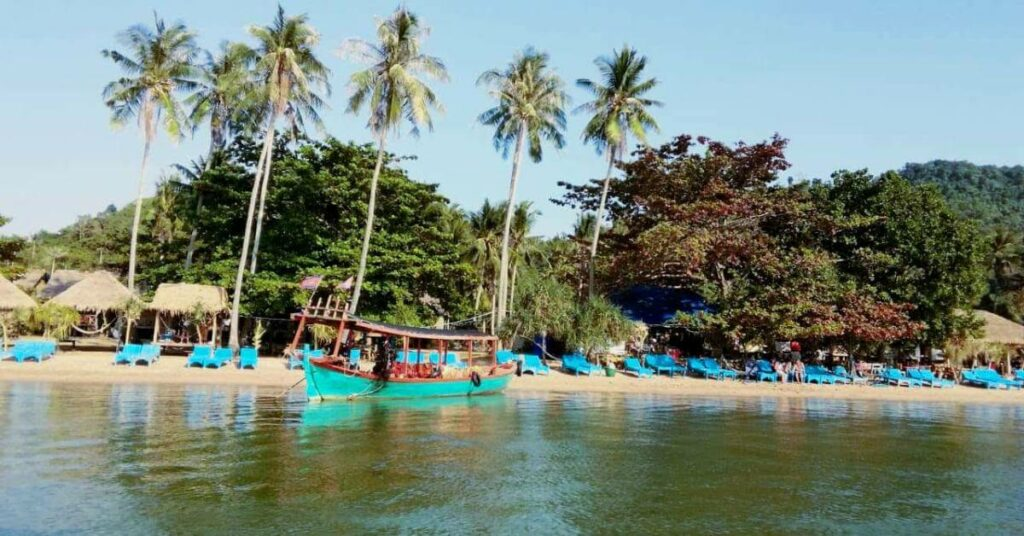 Die Kanincheninsel (Koh Tonsai) vor der Küste von Kep