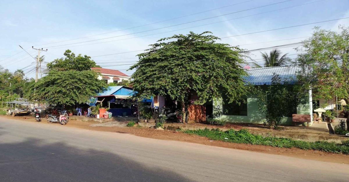 Auf der Road 33A in der Provinz Kep, Kambodscha.