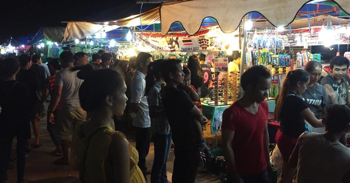 Straßenfest und Silvesterparty in Sihanoukville