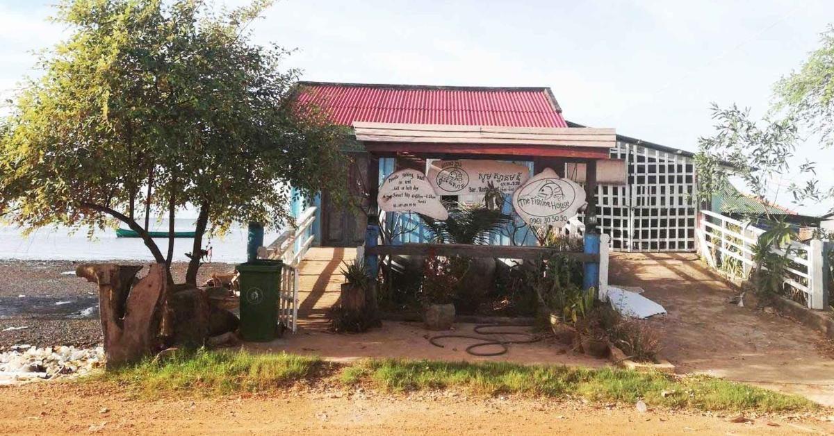 The Fishing House in Kep, französisches Restaurant.